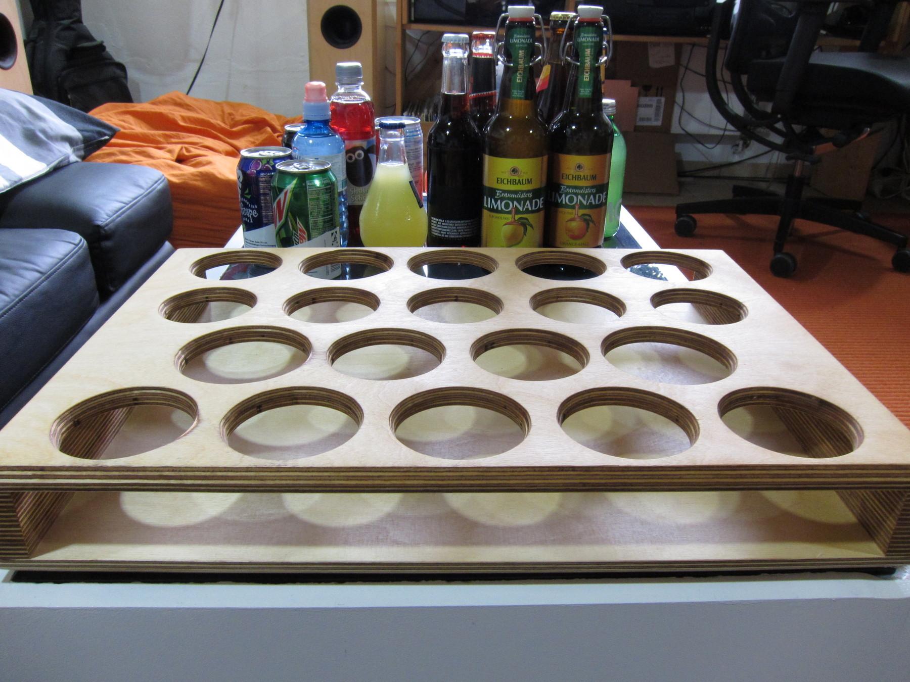 Wooden Drinholder for cult drinks